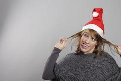 Grappige Kerstmis Stock Afbeeldingen
