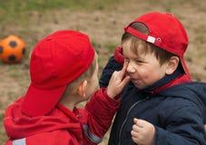 Grappige kinderen Stock Foto