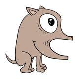 Grappige kleine hond Stock Afbeelding