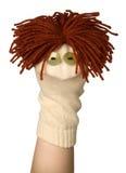 Grappige marionet Royalty-vrije Stock Afbeeldingen
