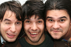 Grappige mensengezichten Stock Fotografie