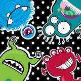 grappige monsters Stock Afbeelding