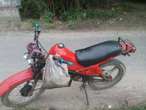 Grappige motorfiets Stock Foto's