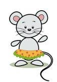 Grappige muis. Stock Afbeeldingen