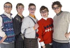 Grappige nerds Royalty-vrije Stock Foto's