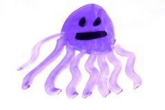 Grappige octopus stock fotografie