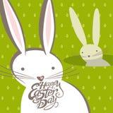Grappige Pasen konijntjes royalty-vrije illustratie