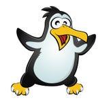 Grappige pinguïn Stock Afbeeldingen
