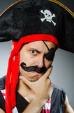 Grappige piraat Royalty-vrije Stock Foto