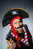 Grappige piraat Stock Fotografie