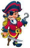 Grappige piraat Stock Foto