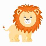 Grappige rode leeuw Stock Afbeeldingen
