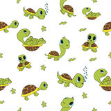 Grappige schildpadden Royalty-vrije Stock Foto
