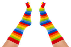 Grappige Sokken stock afbeelding