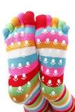 Grappige sokken Royalty-vrije Stock Afbeelding