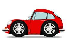 Grappige sportwagen stock illustratie