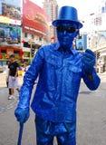 Grappige straatkunstenaar in Maleisië en Kuala Lumpur royalty-vrije stock fotografie