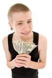 Grappige tiener Stock Foto's