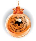 Grappige tijger royalty-vrije illustratie