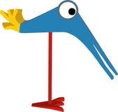 Grappige vogel Stock Afbeeldingen