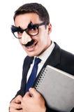 Grappige zakenman Stock Afbeelding