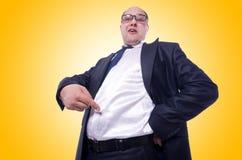 Grappige zakenman Stock Foto's