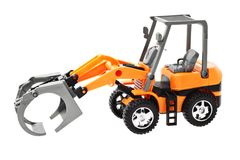 Grapple loader tractor Royalty Free Stock Photo