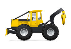 Grapple Skidder Isolated Royalty Free Stock Photos