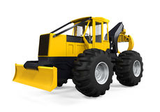 Grapple Skidder Isolated Stock Photography