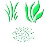 Gras 3D stock abbildung