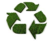 Gras 3D bereiten Symbol auf Lizenzfreie Stockbilder