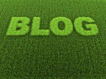 Gras-Blog lizenzfreie abbildung