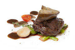 Gras cuits de foie Photographie stock libre de droits