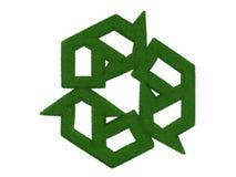 Gras, das Symbol aufbereitet Stockfotos