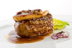 Gras del foie de la carne de vaca Imagen de archivo