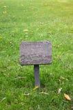 Gras en plaque Royalty-vrije Stock Foto