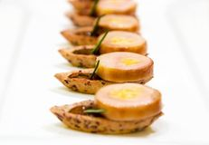 gras foie torched Стоковая Фотография