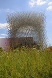 Gras in Groot-Brittannië pavillon, EXPO 2015 Milaan Stock Foto's