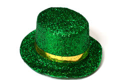 gras kapeluszu odosobniony mardi Obrazy Royalty Free