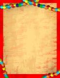 gras mardi纸张 库存照片