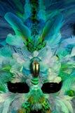 gras mardi maska Fotografia Stock