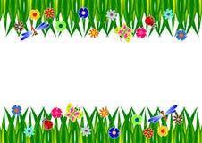 Gras-Rahmen Lizenzfreies Stockfoto