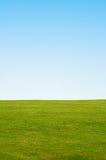 Gras-und Himmel-Hintergrund Lizenzfreie Stockbilder