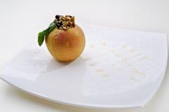 Gras van Foie met appel Royalty-vrije Stock Fotografie