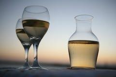 Gras van wijn Royalty-vrije Stock Afbeeldingen