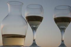 Gras van wijn Stock Fotografie