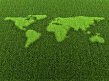 Gras-Welt stock abbildung