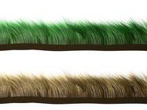 Gras in wind Royalty-vrije Stock Fotografie