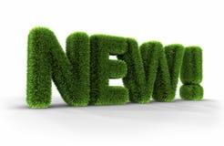 Gras-Wort - neu! lizenzfreie abbildung