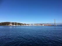 Grasholmen,斯塔万格,挪威 免版税库存图片
